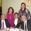 Former Secretary of State Donald Rumsfeld, Ambassador of Azerbaijan Suleymanov and Mrs. Suleymanov, AAFSW President Joanna Athanasopoulos Owen, PhD, and AAFSW Program Chair Sheila Switzer, Meridian House - Washington, DC, Thursday, May 10, 2018.  Photo: Courtesy of AAFSW.
